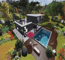 Simulation d'un projet en 3D
