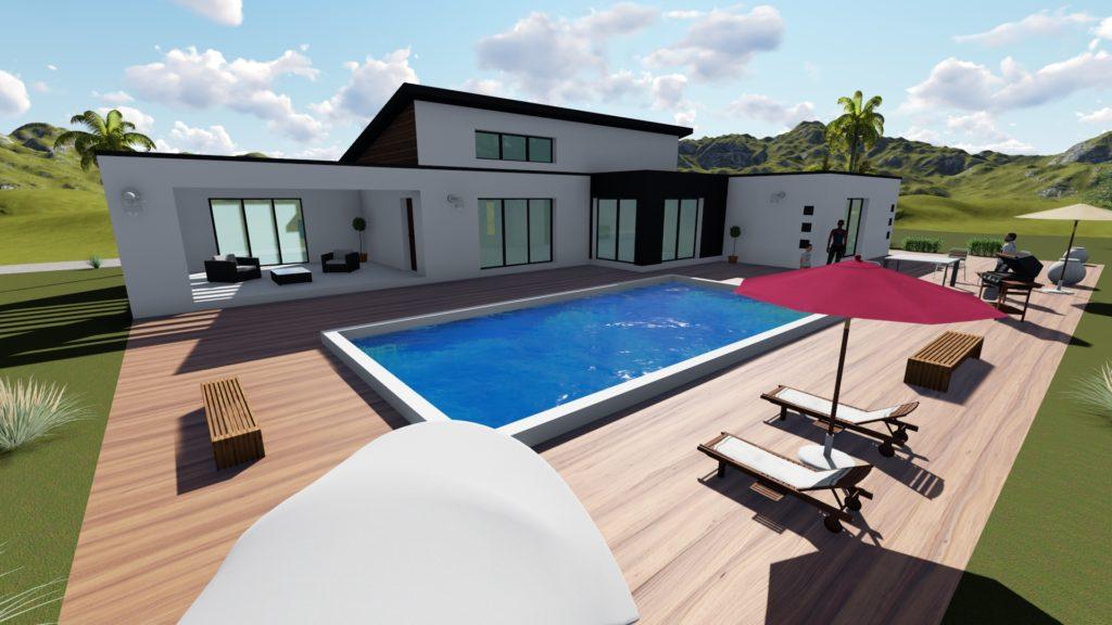 Maison 150 m² Ste-Rose
