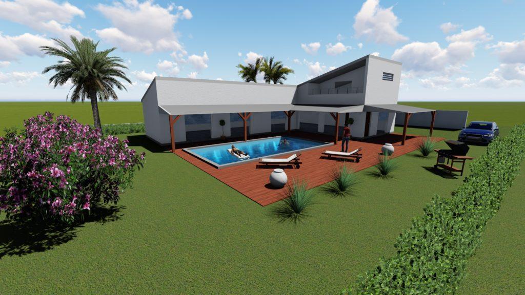 Villa St-François 120 m²