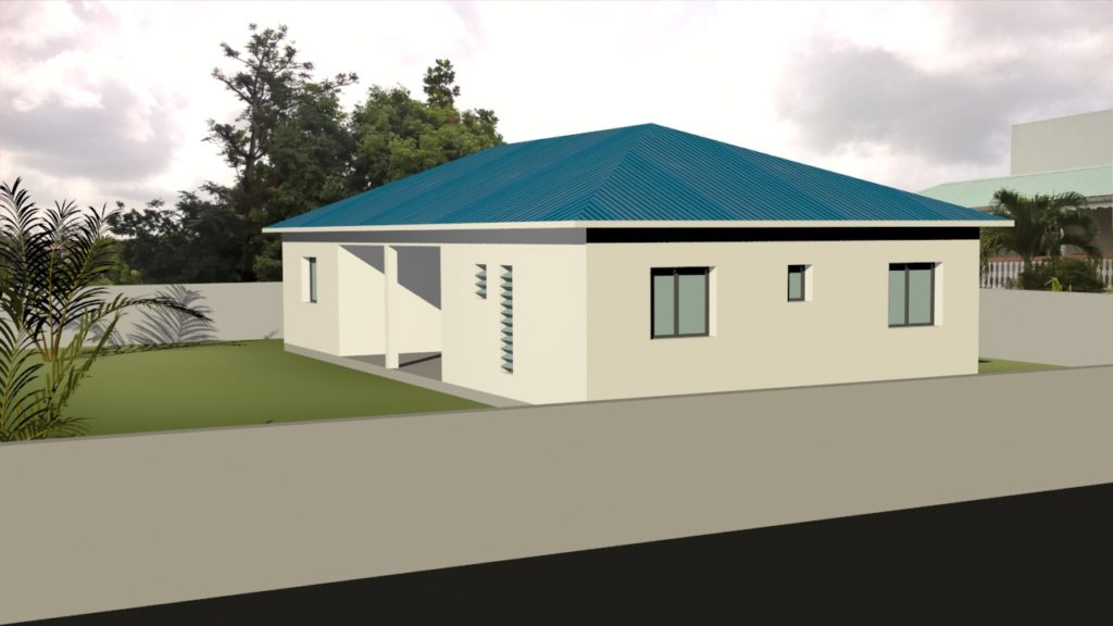 Maison traditionnelle Abymes 100 m²