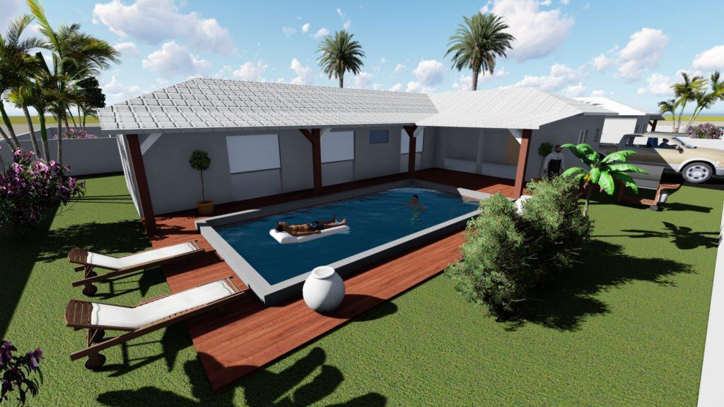Villa 100 m²